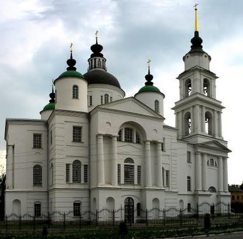 Троицкий собор, Чаплыгин, трасса р126
