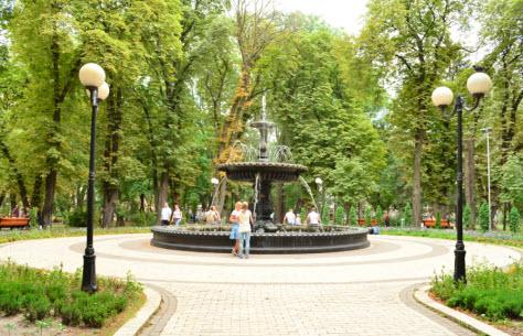 мариинский парк, поездка в Киев