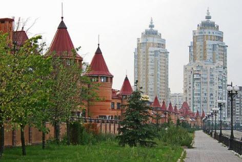 оболонь, дома, поездка в киев