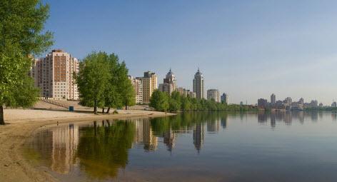 оболонь, путешествие в Киев