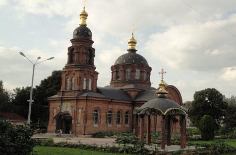 собор Александра Невского, трасса Р188, старый оскол