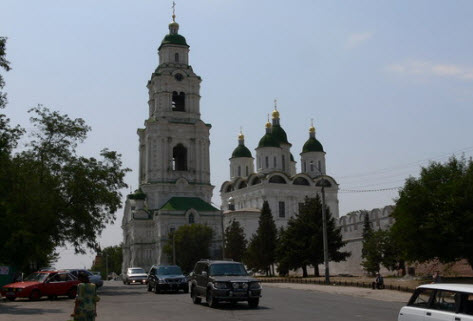 Астраханский кремль, трасса р214
