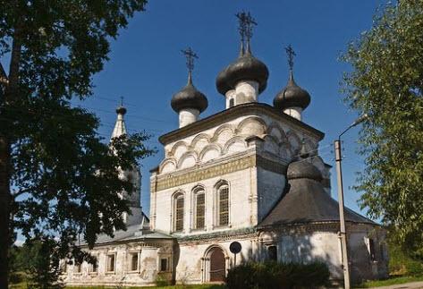 Спасский собор, Белозерск, трасса р6
