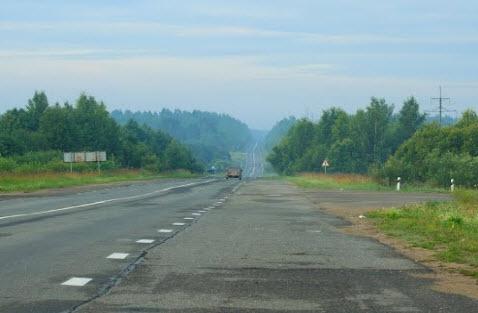 трасса Р6, маршрут Череповец - Липин Бор