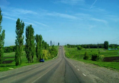 трасса р190, возле ТИМ