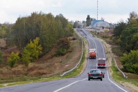 трасса р205, лебедянское шоссе