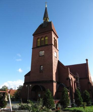 Спасо-Преображенский собор, зеленоградск, трасса а191