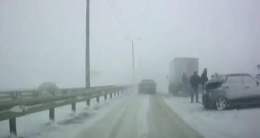 авария на трассе м23