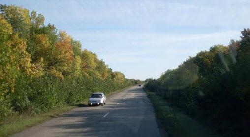 трасса р235, маршрут Балашов - Сердобск