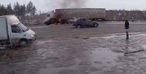 авария на трассе М7 москва - уфа