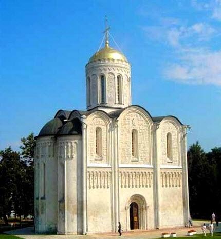 дмитриевский собор владимир маршрут выходного дня