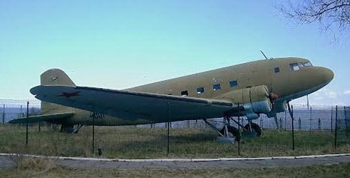самолет ЛИ-2 музей дороги жизни, трасса а128
