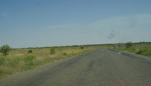 трасса Волгоград - астрахань, поездка в сарай-бату