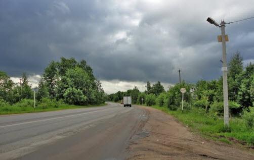 трасса а128, маршрут Петербург - Морье