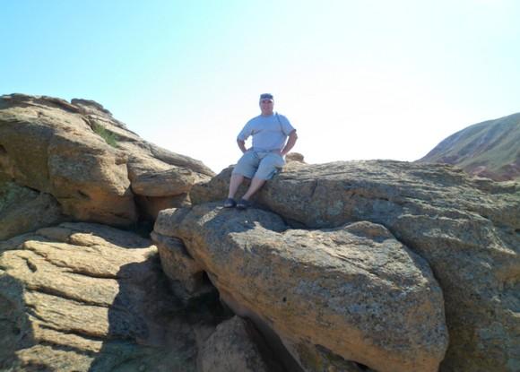 гора большое богдо скалы