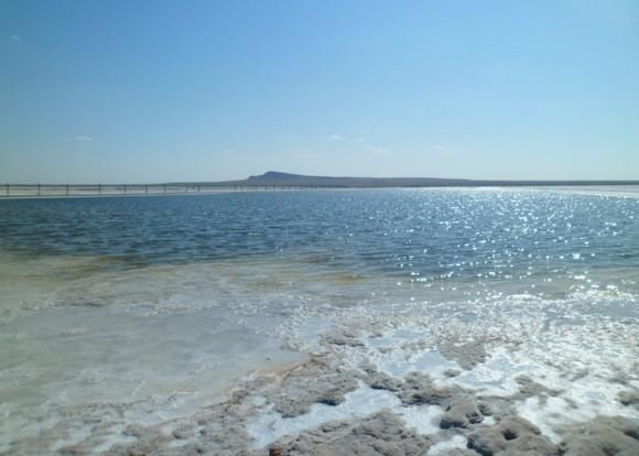второй пляж на озере баскунчак