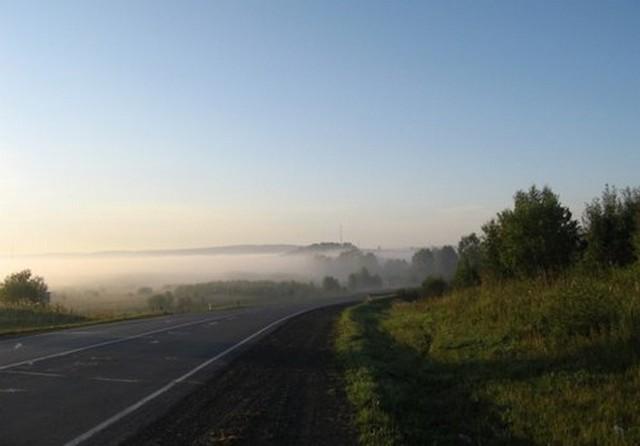 дорога в алтайский край