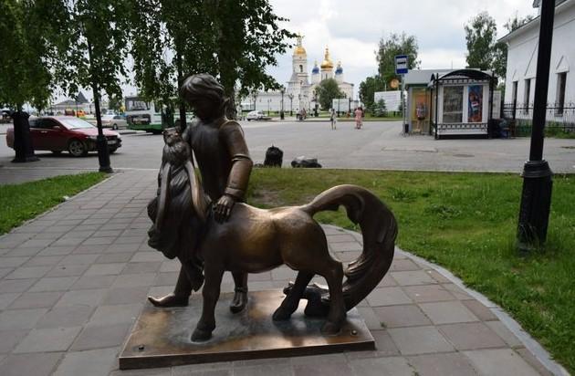 Тобольск сказочная скульптура