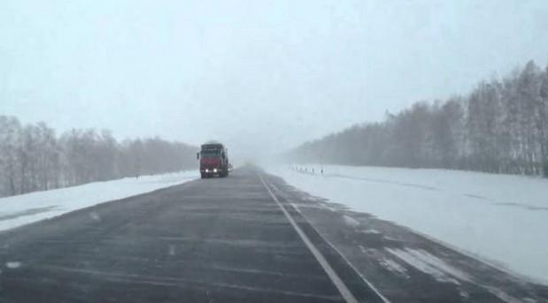 на трассе Сызрань-Саратов-Волгоград ухудшение видимости может достичь до 500-1000 м Росавтодор обращается к автомобилистам с просьбой быть предельно внимательными на дороге.