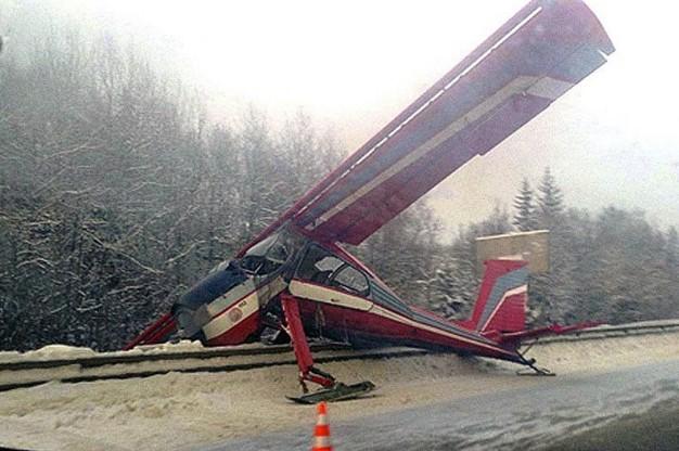 самолет на ярославском шоссе