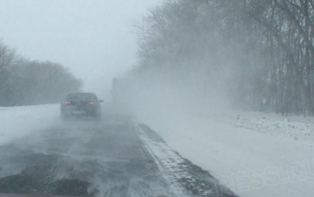 дороги оренбурга зимой