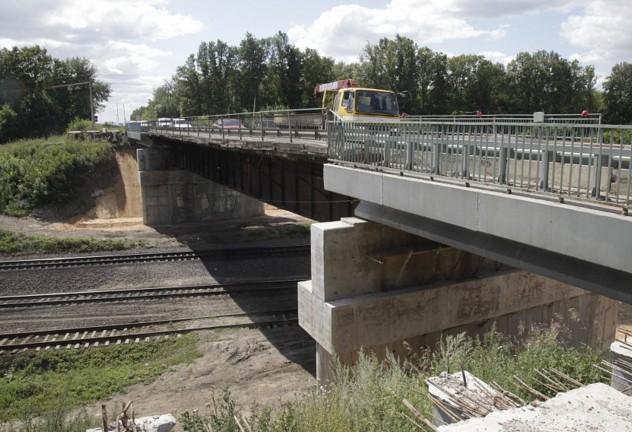 ремонт путепровода на трассе Тула новомосковск