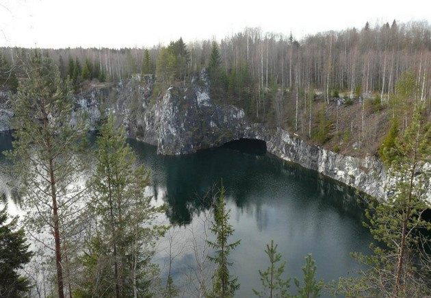 каньон в рускеала