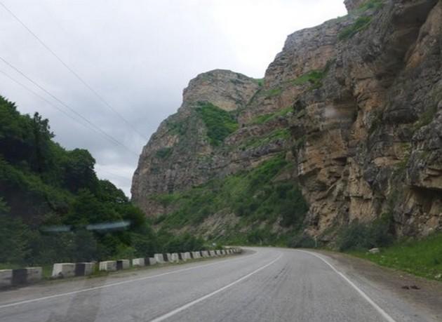 дорога в баксанское ущелье