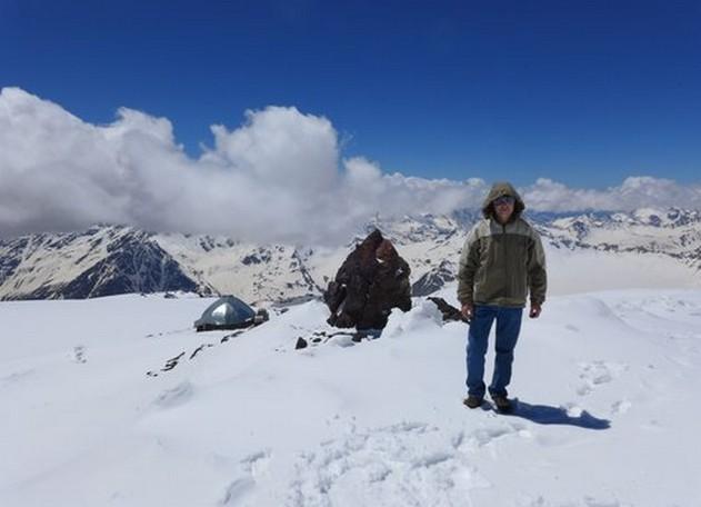 горные вершины кавказа