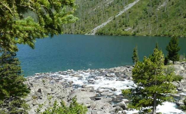 река впадает в мультинские озера
