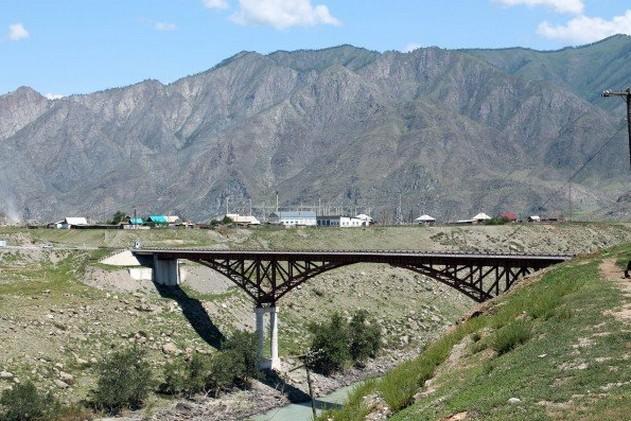 новый мост в селе иня