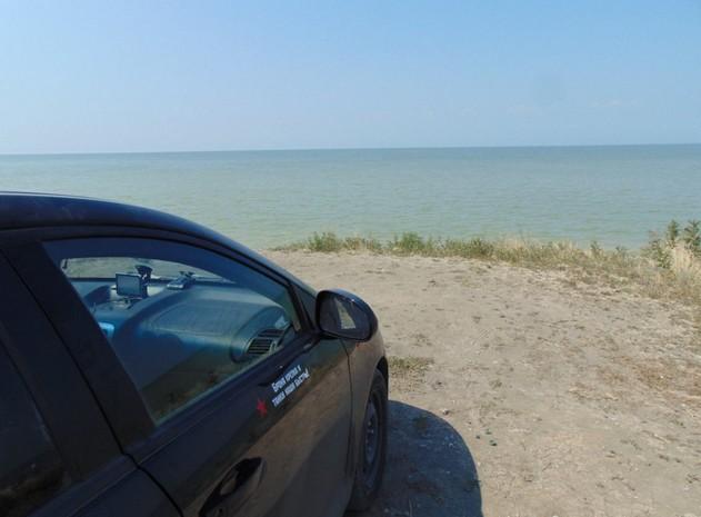 поездка на азовское море  на авто
