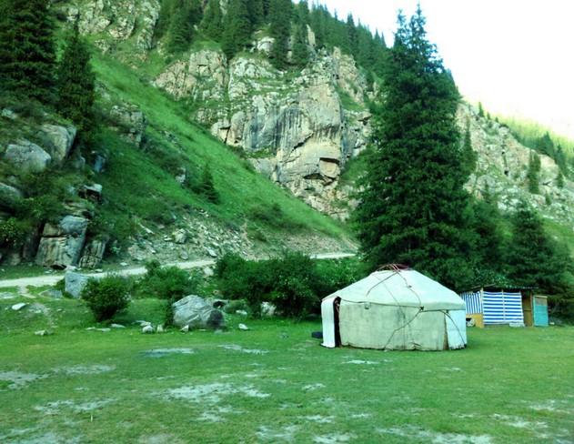 юрта в киргизии