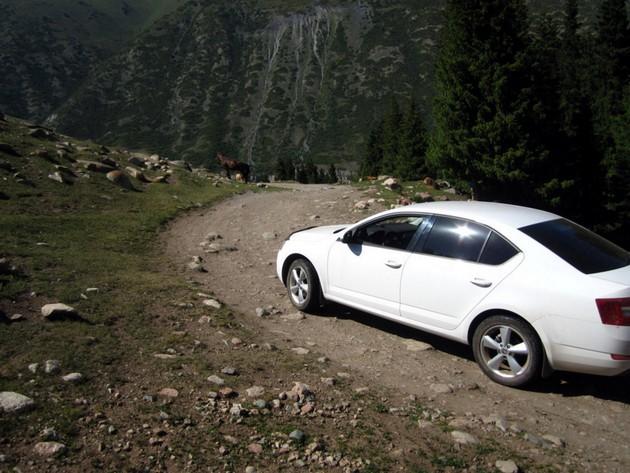 поездка на иссык - куль перевал