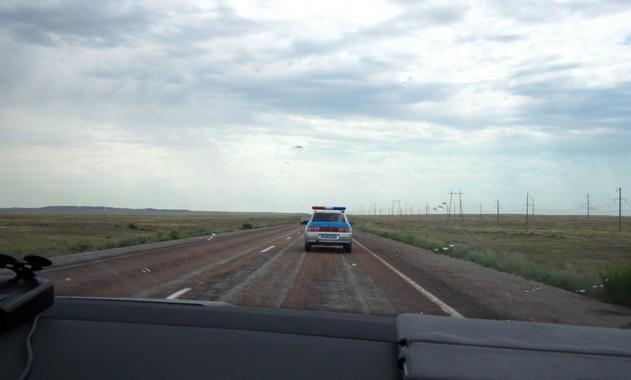 казахское дпс на дороге
