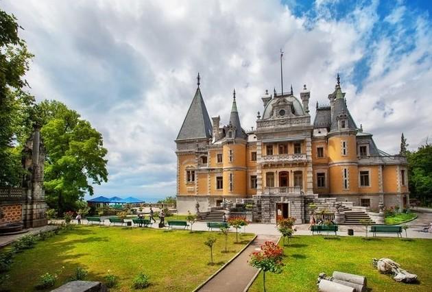 путешествие в крым Массандровский дворец