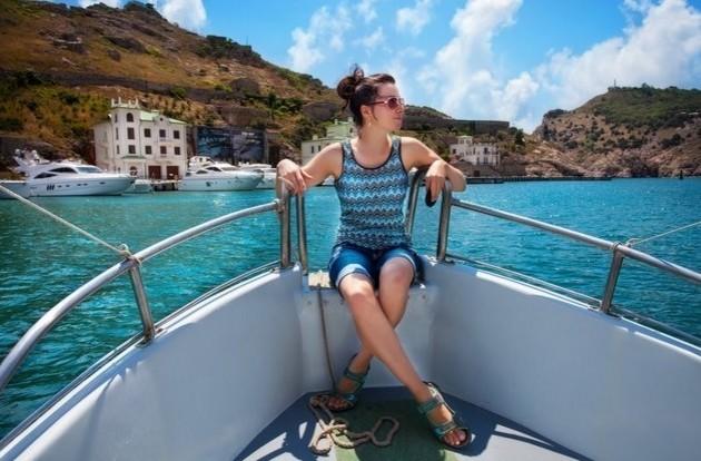 прогулка на катере балаклава море