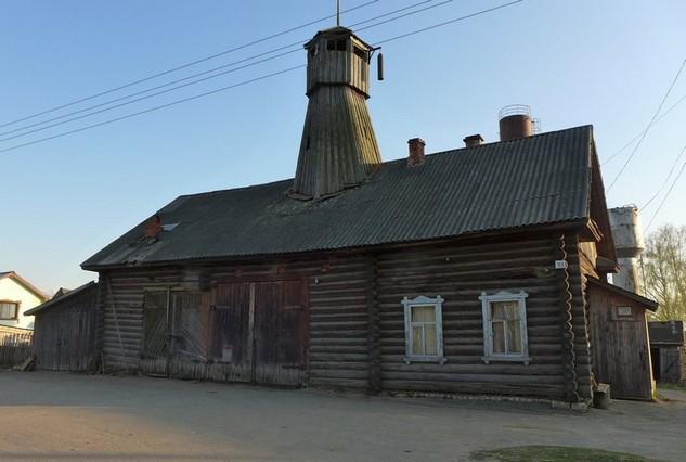 деревянная пожарная часть