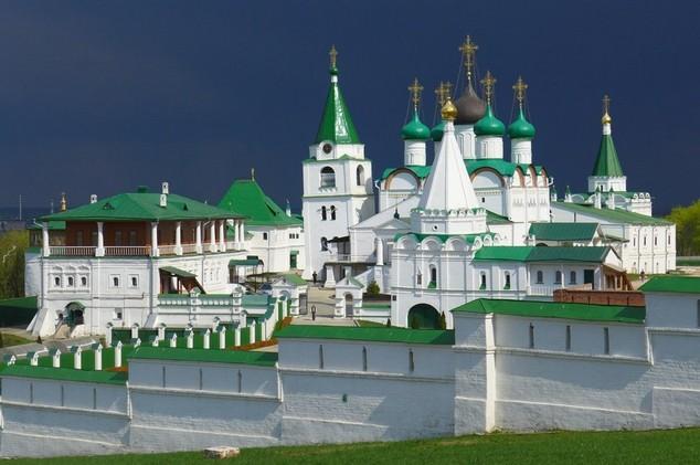Вознесенский Печерский монастырь 17 века