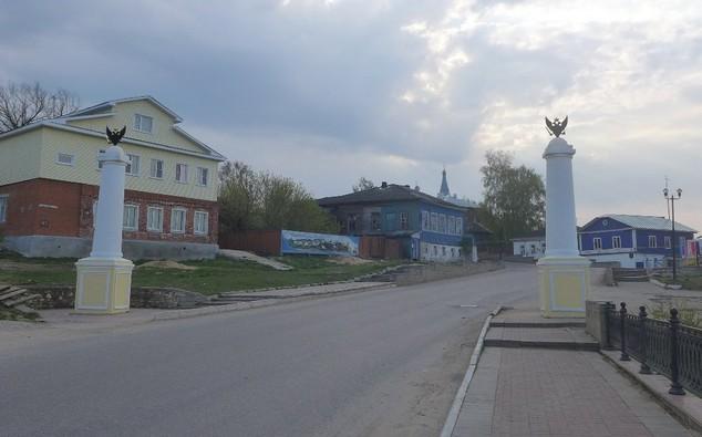 Петровская застава в касимове