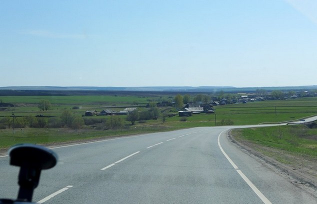 дорога в мордовии