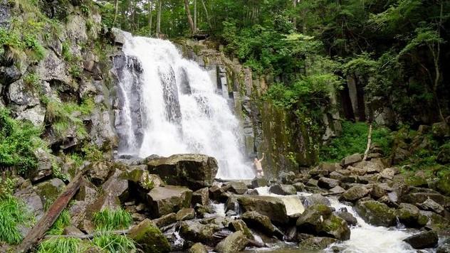 неожиданный водопад в приморье