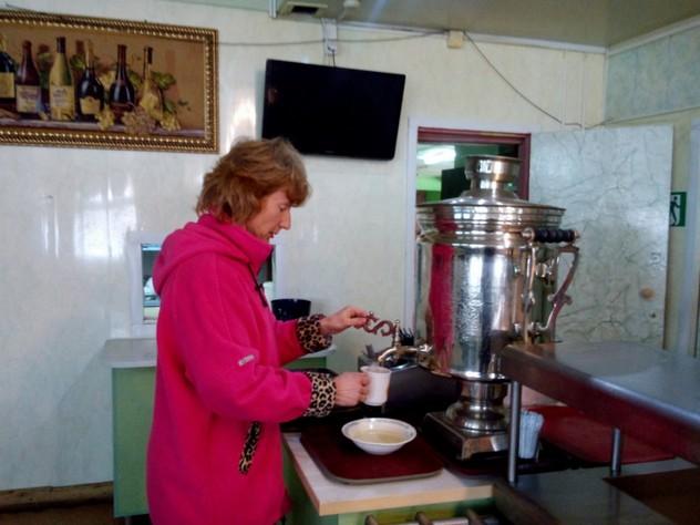 кафе с самоваром