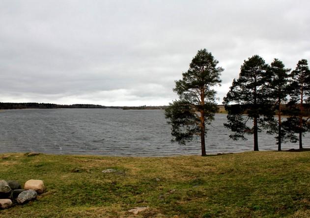 северная поездка озеро