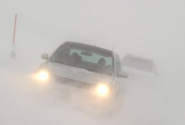 дорога р21 закрыта из-за тумана