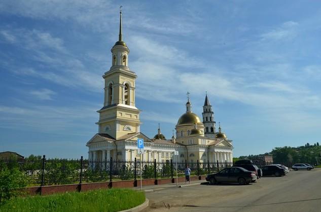 Спасо-Преображенский собор,Невьянск