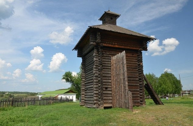 Башня острога, 1656 г.