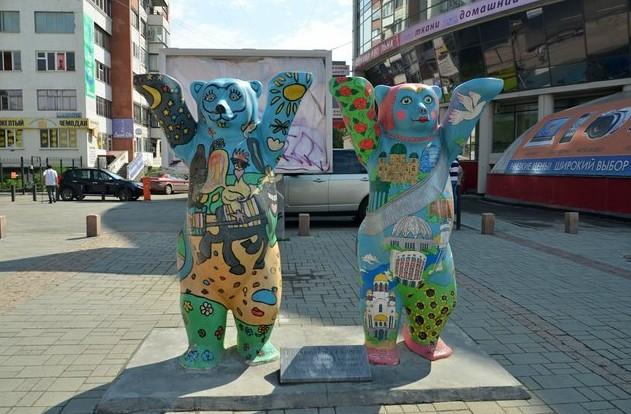 памятник Берлинские мишки
