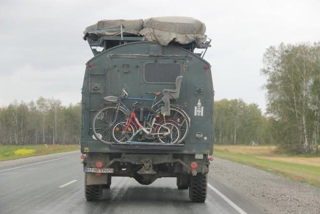 дорога в крым за омском
