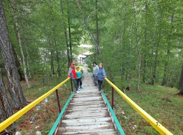 поездка в монды лестница